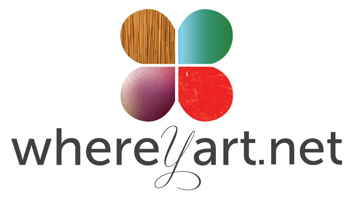 Where Y'art Logo
