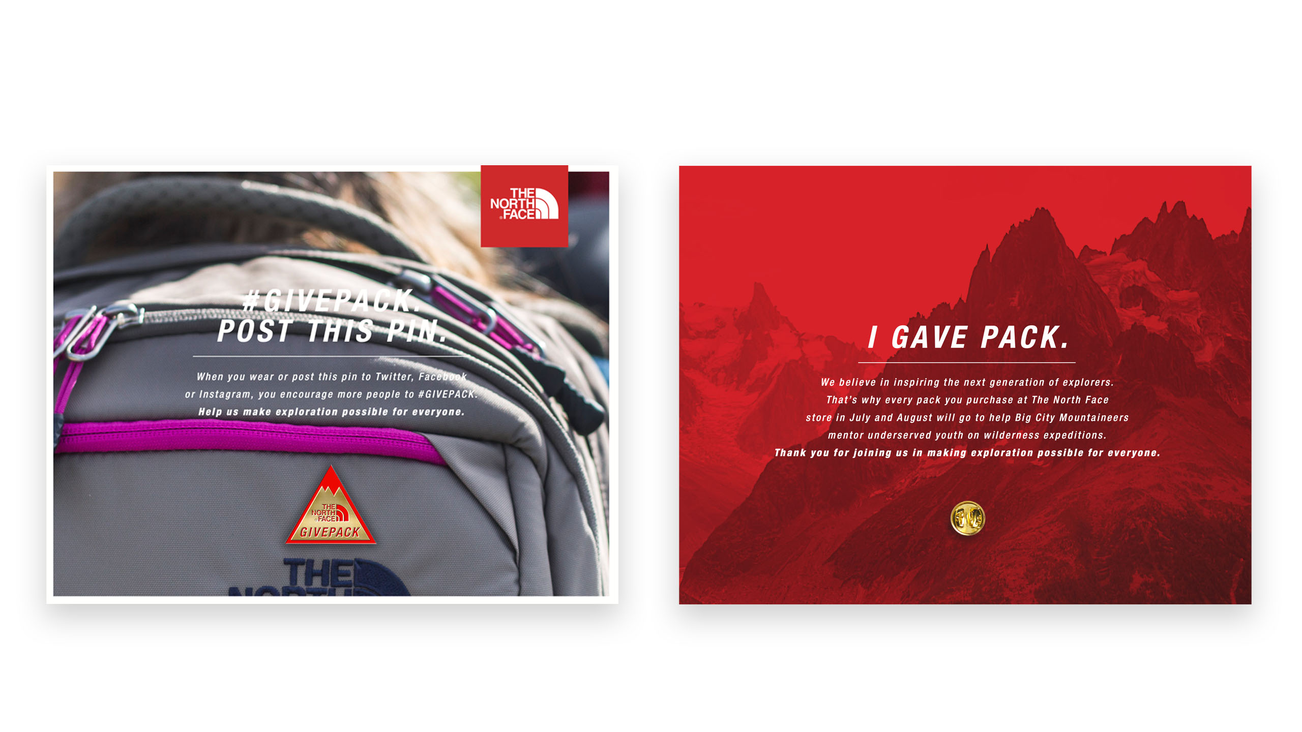 The North Face: Givepack