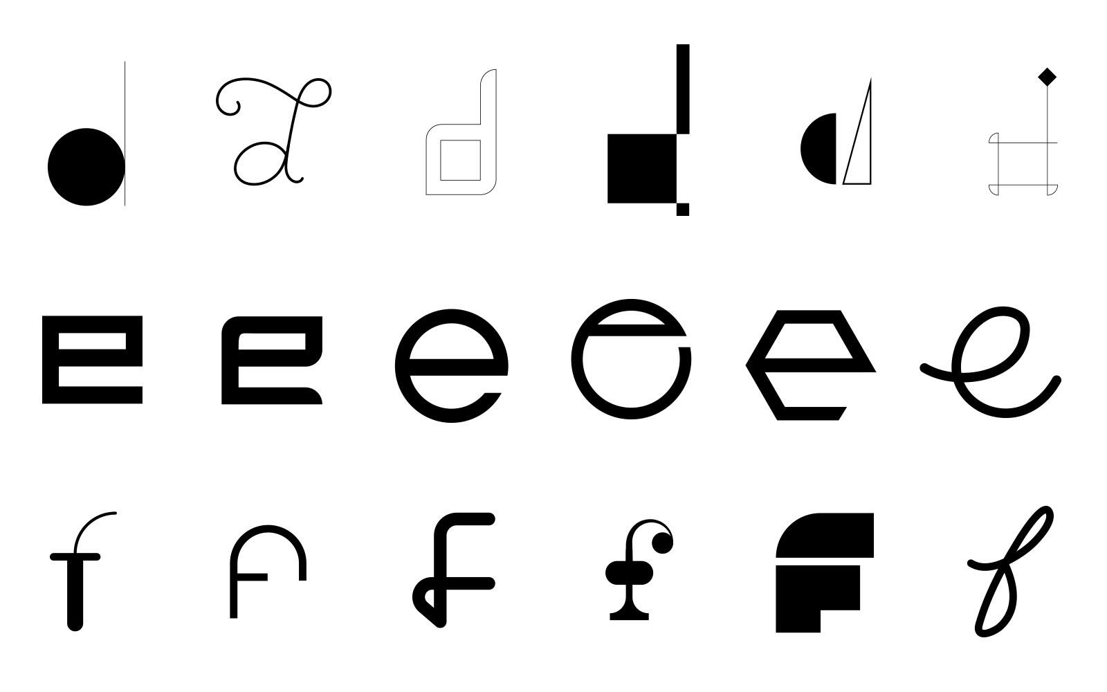 Alphabetypography