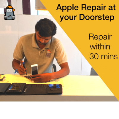 iTweak apple repair at doorstep