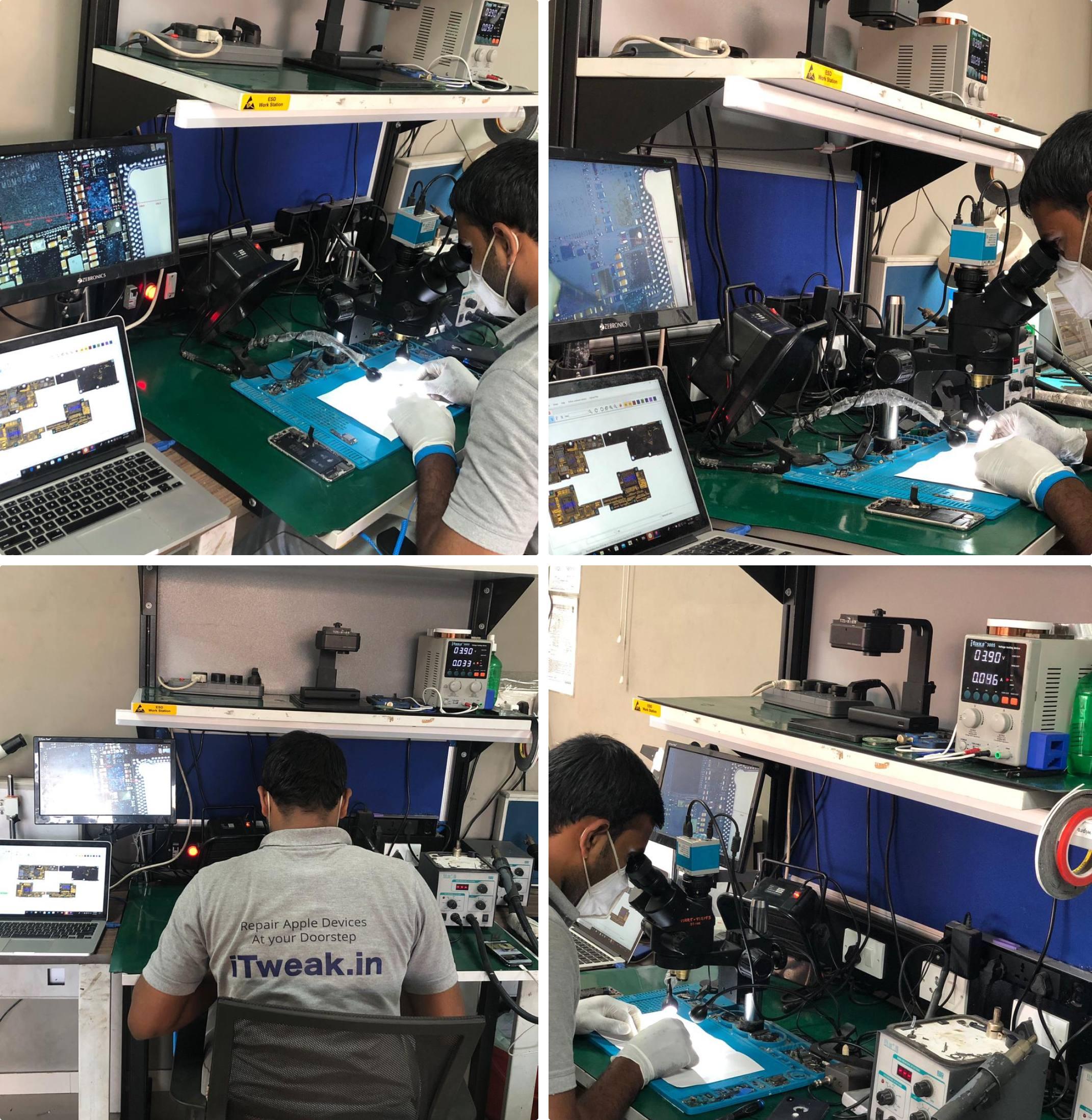 MacBook motherboard repair at iTweak, Bangalore