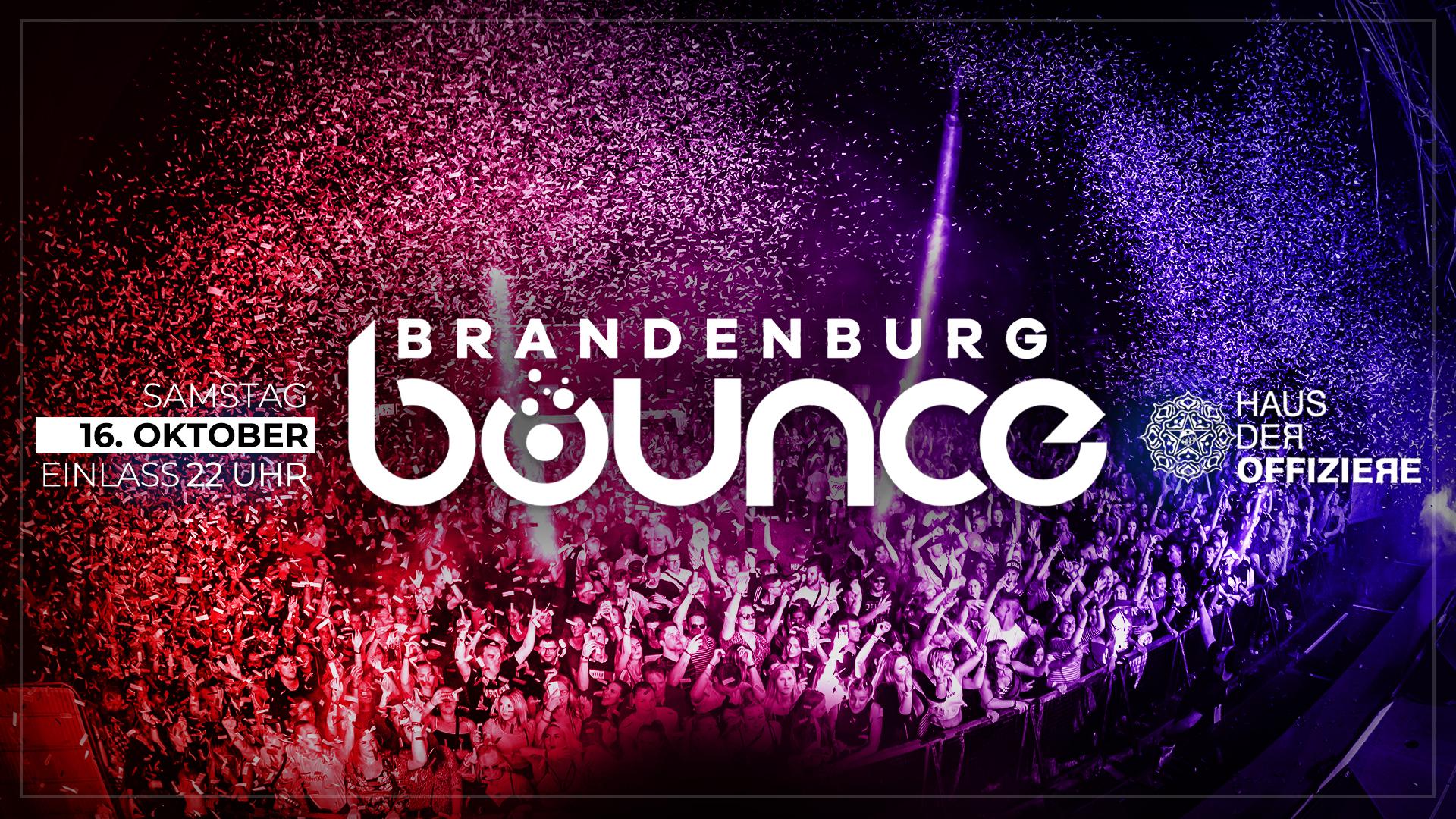 BRANDENBURG BOUNCE • WE ARE BACK | 16.10.