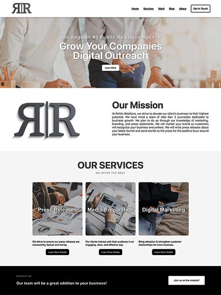 Rahim Relations website Powered by I2I