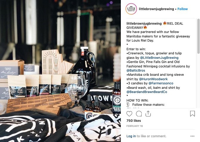 Instagram Engaging Content Example - Little Brown Jug
