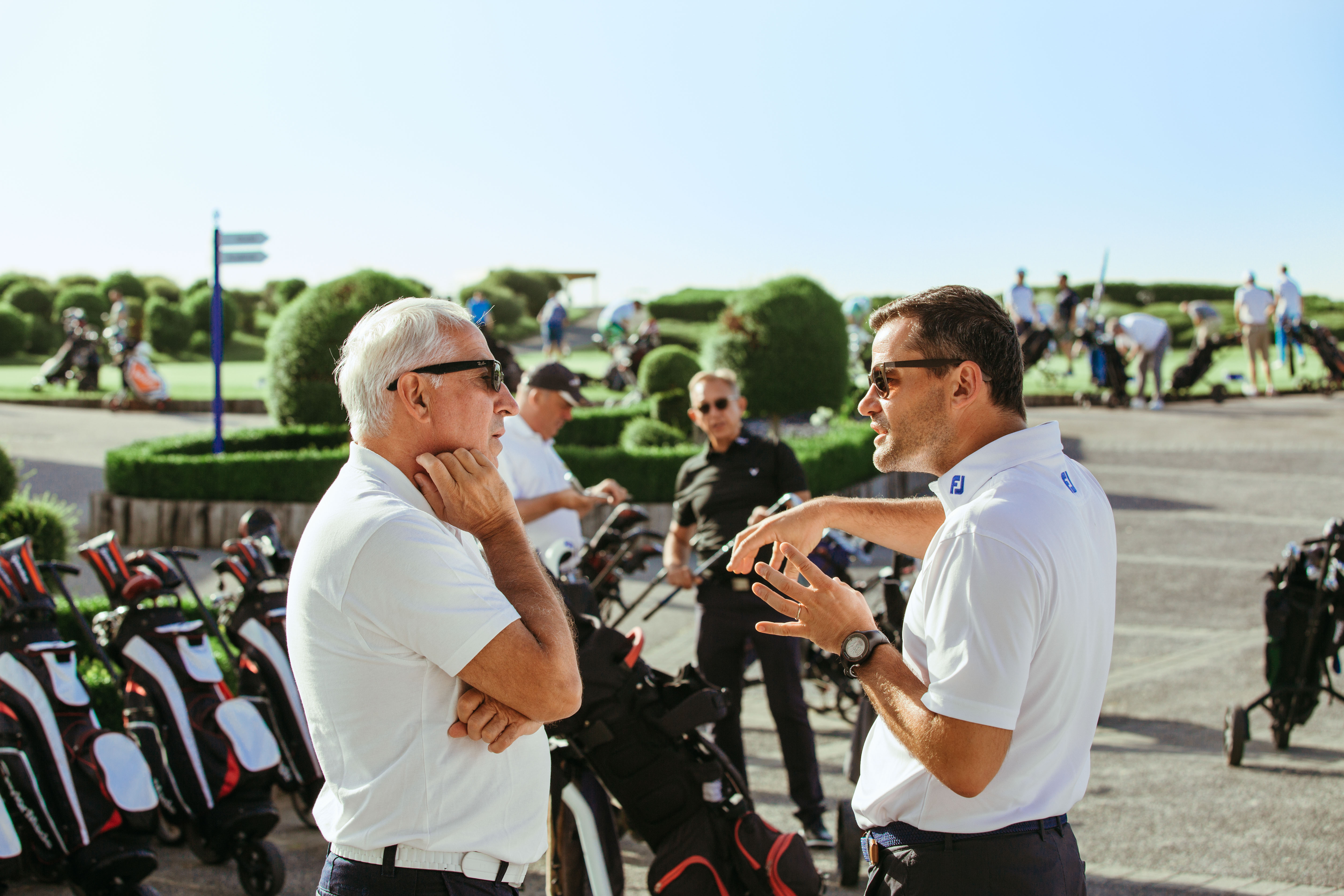 Discussions sur le parcours 18 trous du Golf National