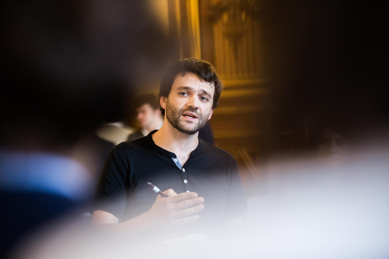 Discours explicatif lors de l'atelier BNP Paribas au Nova Forum