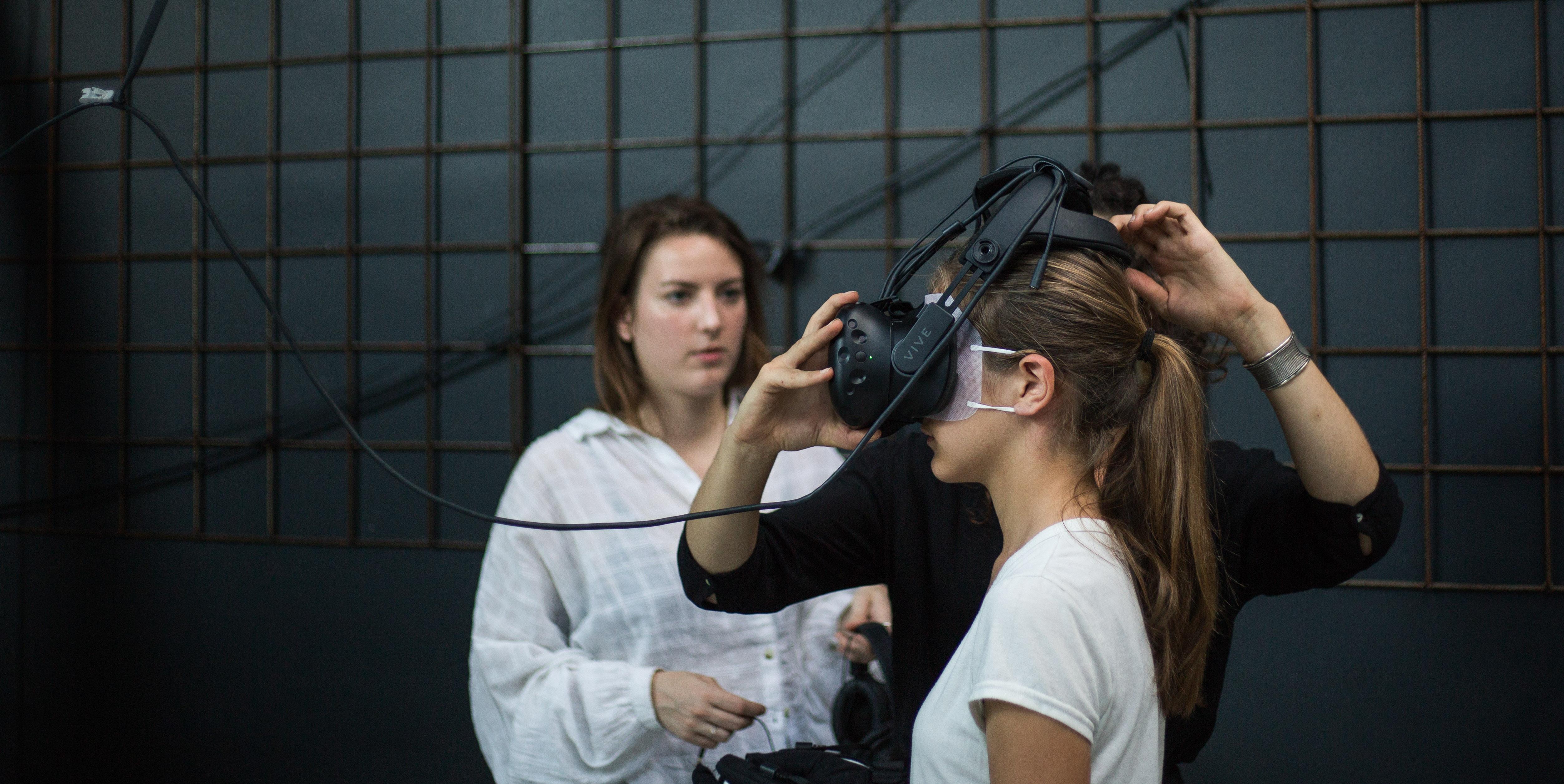 Expérience réalité virtuelle