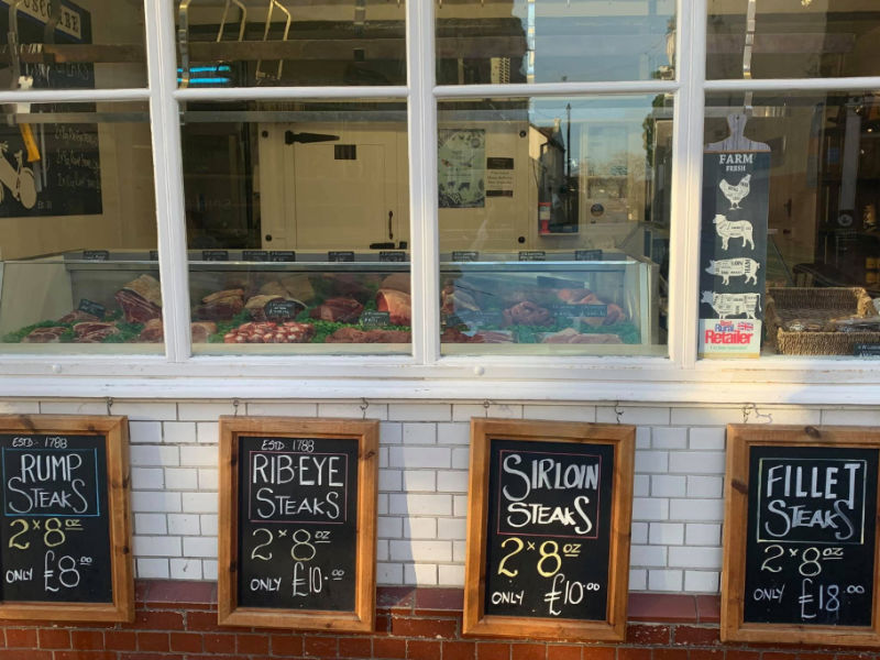 A W Luscombe Butchers