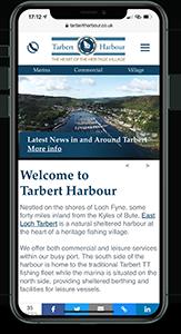 Market Argyll - iPhone mockup