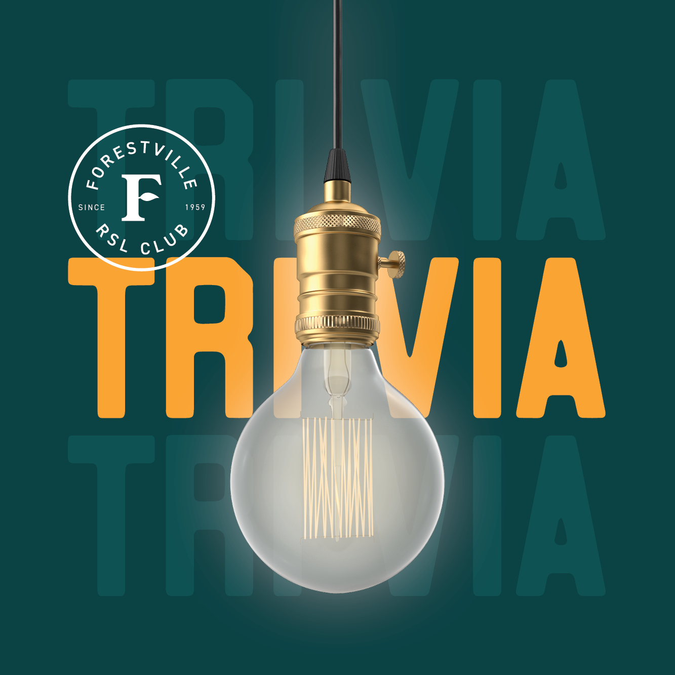 Stay tuned - Trivia will be returning to Forestville RSL Club very soon...