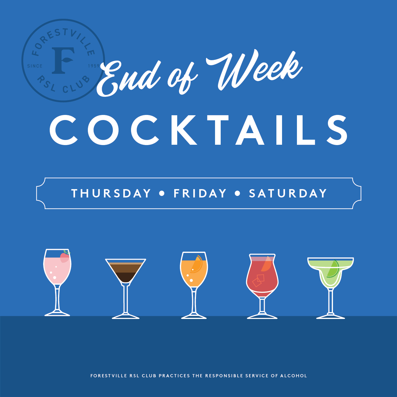 Kick off the weekend with our NEWclassic cocktail menu