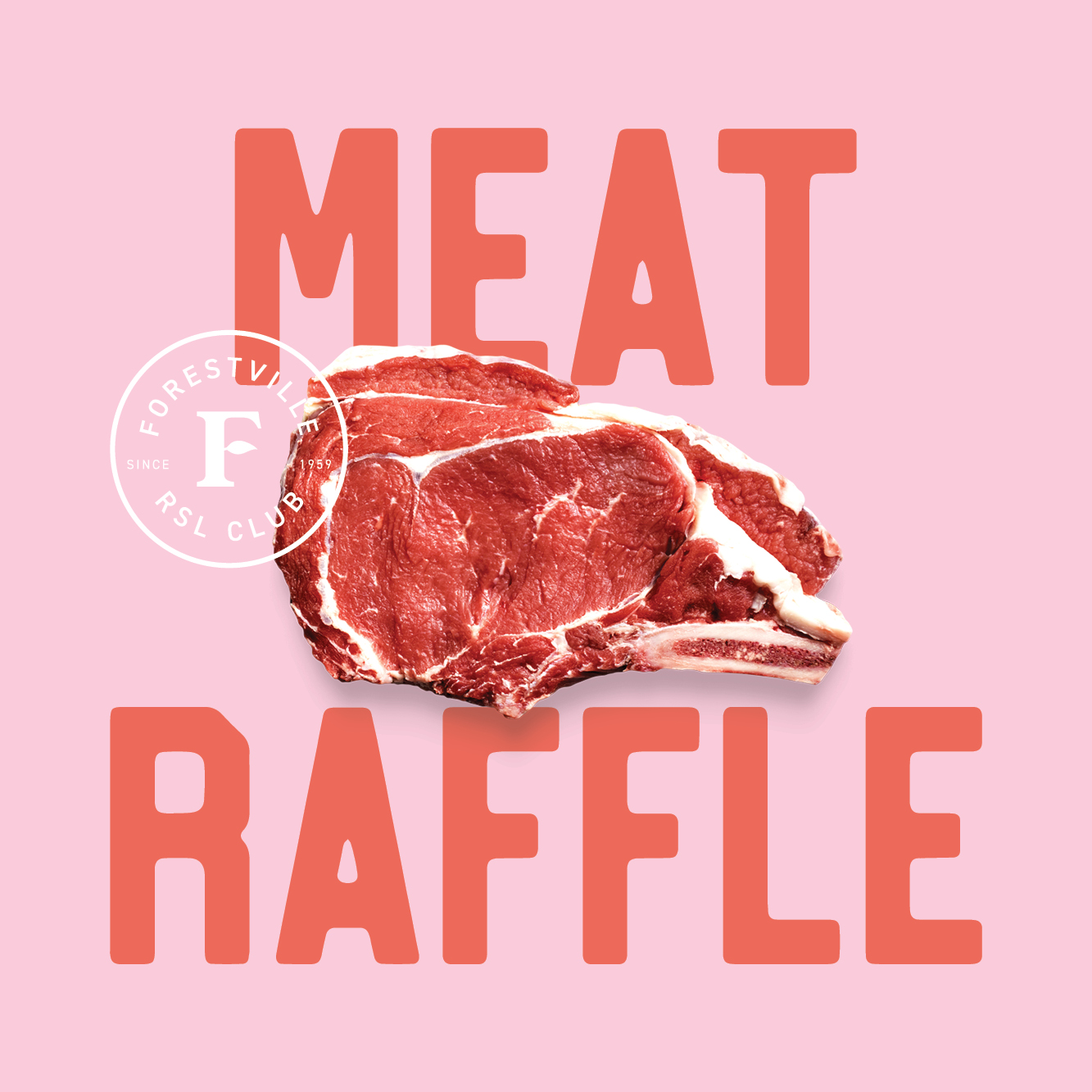 Join us on Fridays for your chance to win a share of meat trays!
