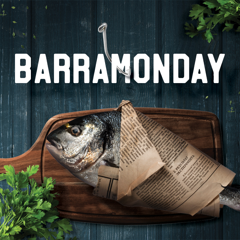 Let one of Australia's favourite fishes kick off your week on Barramonday.