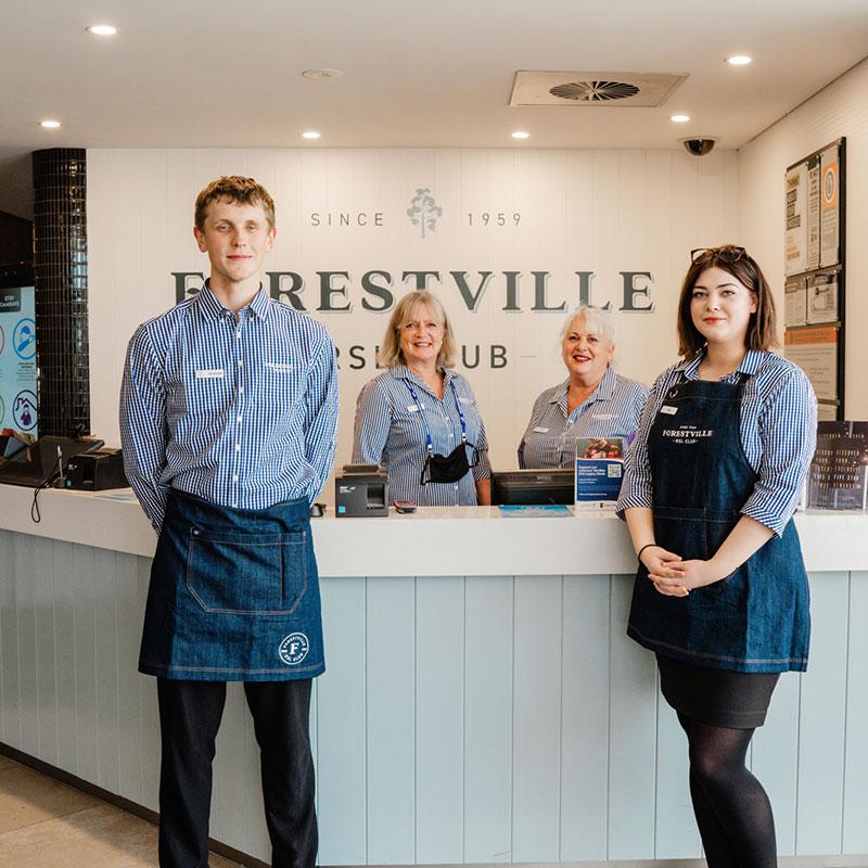 Forestville RSL Club Staff