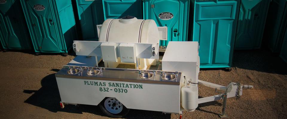 Plumas Sanitation Portable Hand Wash Unit