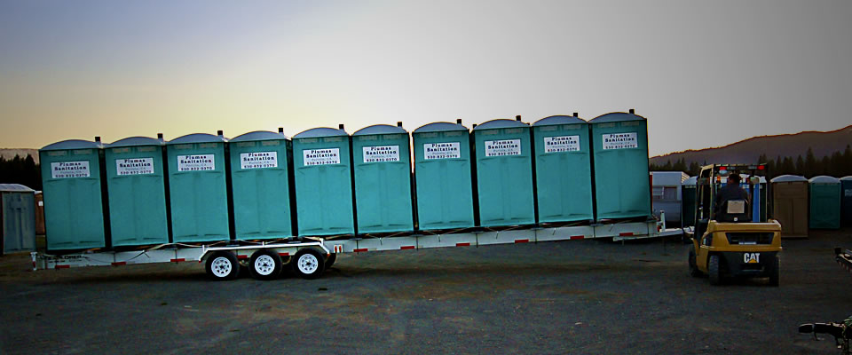 Plumas Sanitation Toilet Transport Trailer