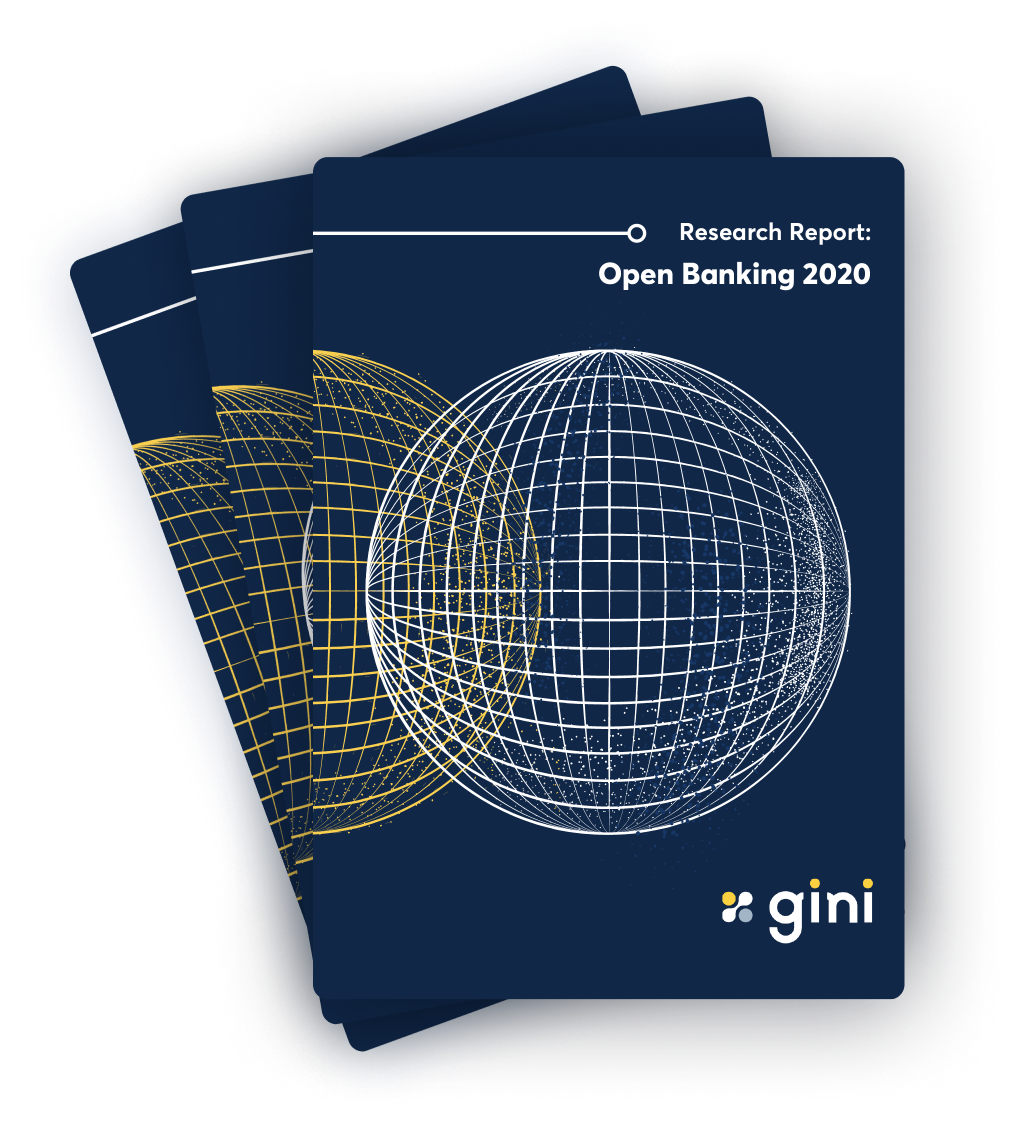 gini's original research report on open banking in Asia Pacific for 2020