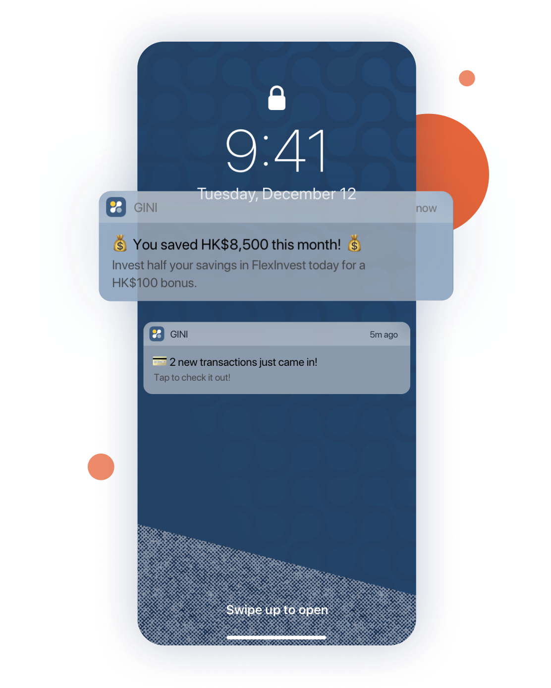 Send well-timed personalised nudges and notifications to your customers' phones to prompt immediate action