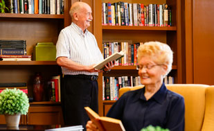Senior Living, Presbyterian Manors of Mid-America Not-For-Profit Difference Explore Card