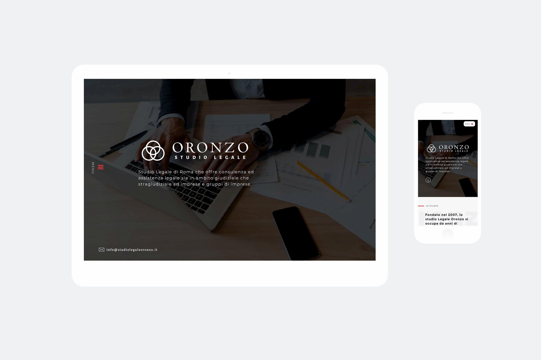 Realizzazione sito web  Studio Oronzo