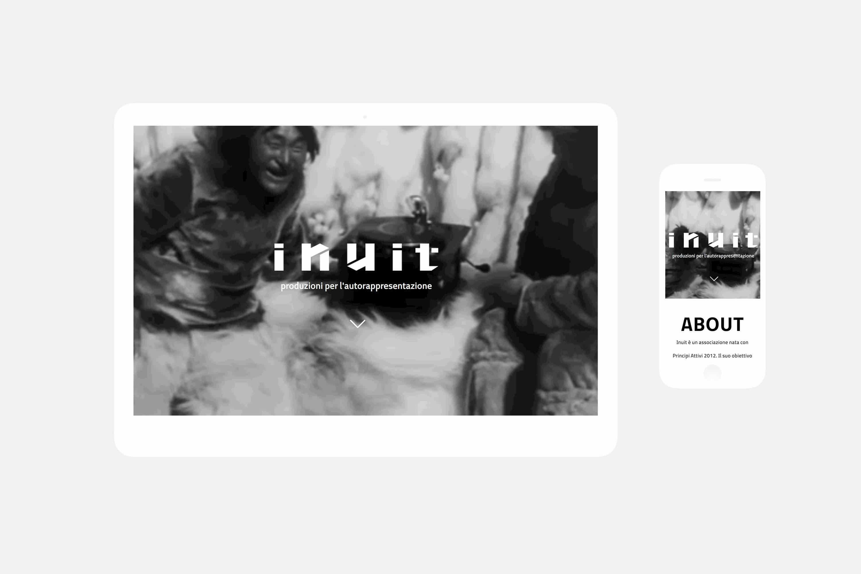 Realizzazione sito web Inuit