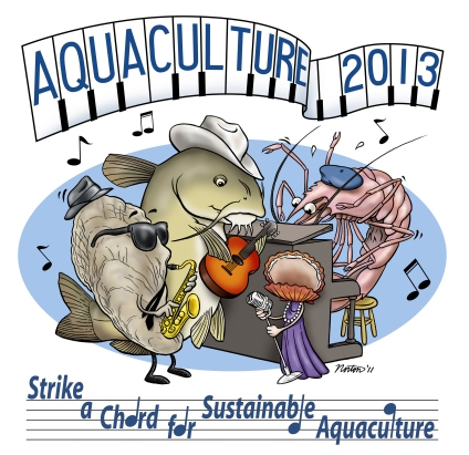 Have you made your travel plans yet? AQUACULTURE 2013!