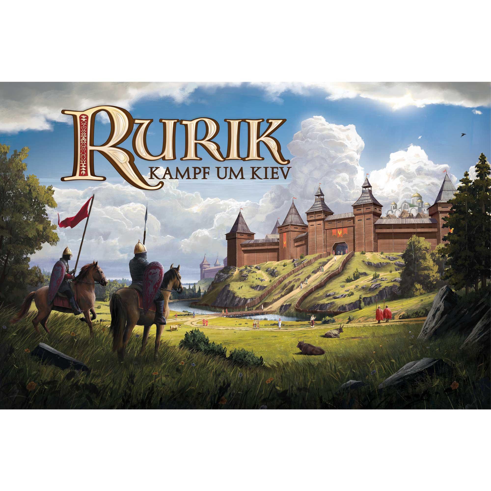 Rurik - Kampf um Kiev - Deluxe Edition mit 3D Miniaturen