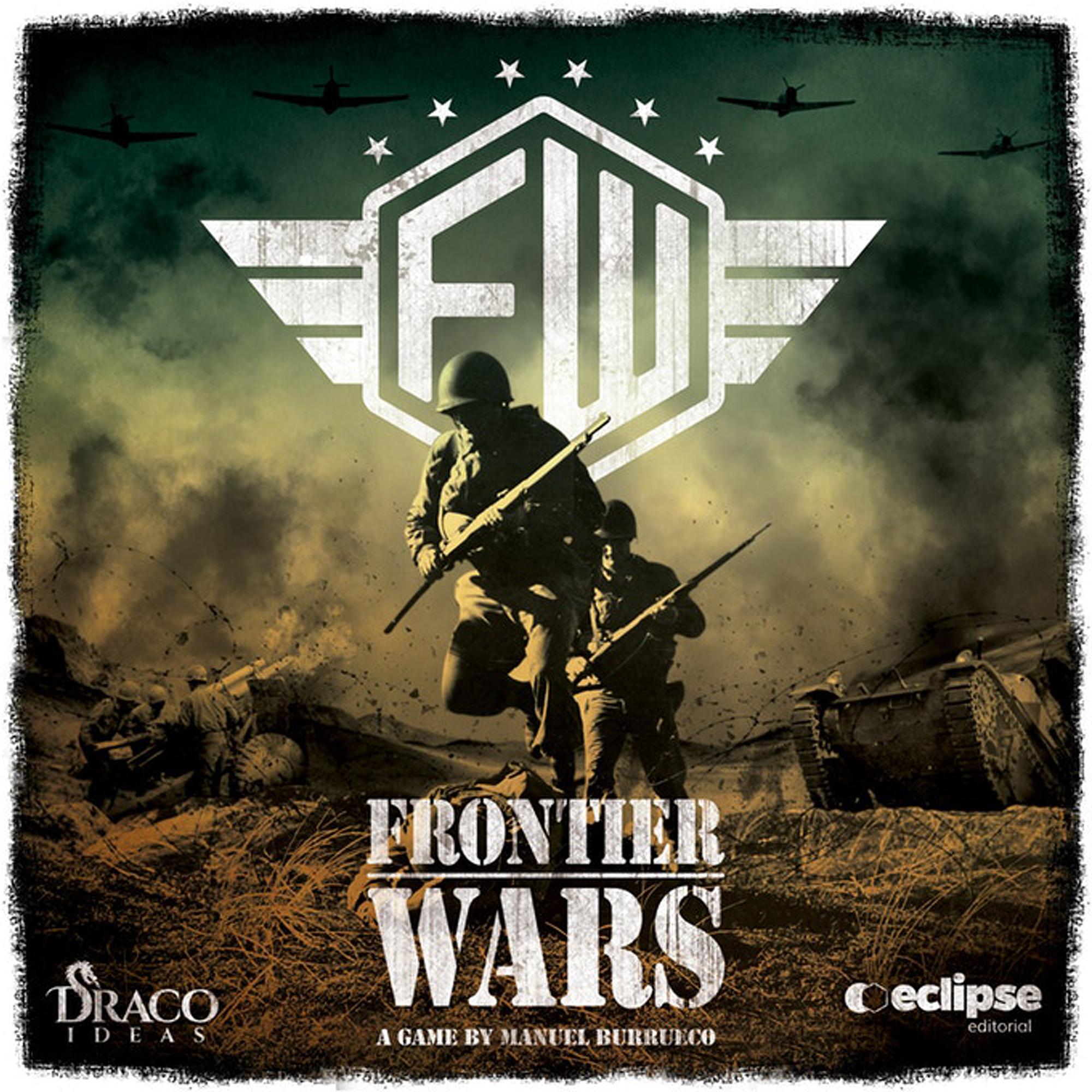 Frontier Wars - Wetterkarten inklusive Wetter - und Soloregeln Erweiterung