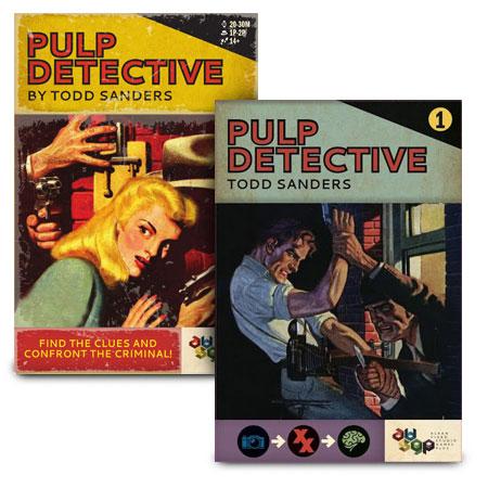 """Pulp Detective inkl. 1. Erweiterung """"Drahtzieher & Verräter"""""""