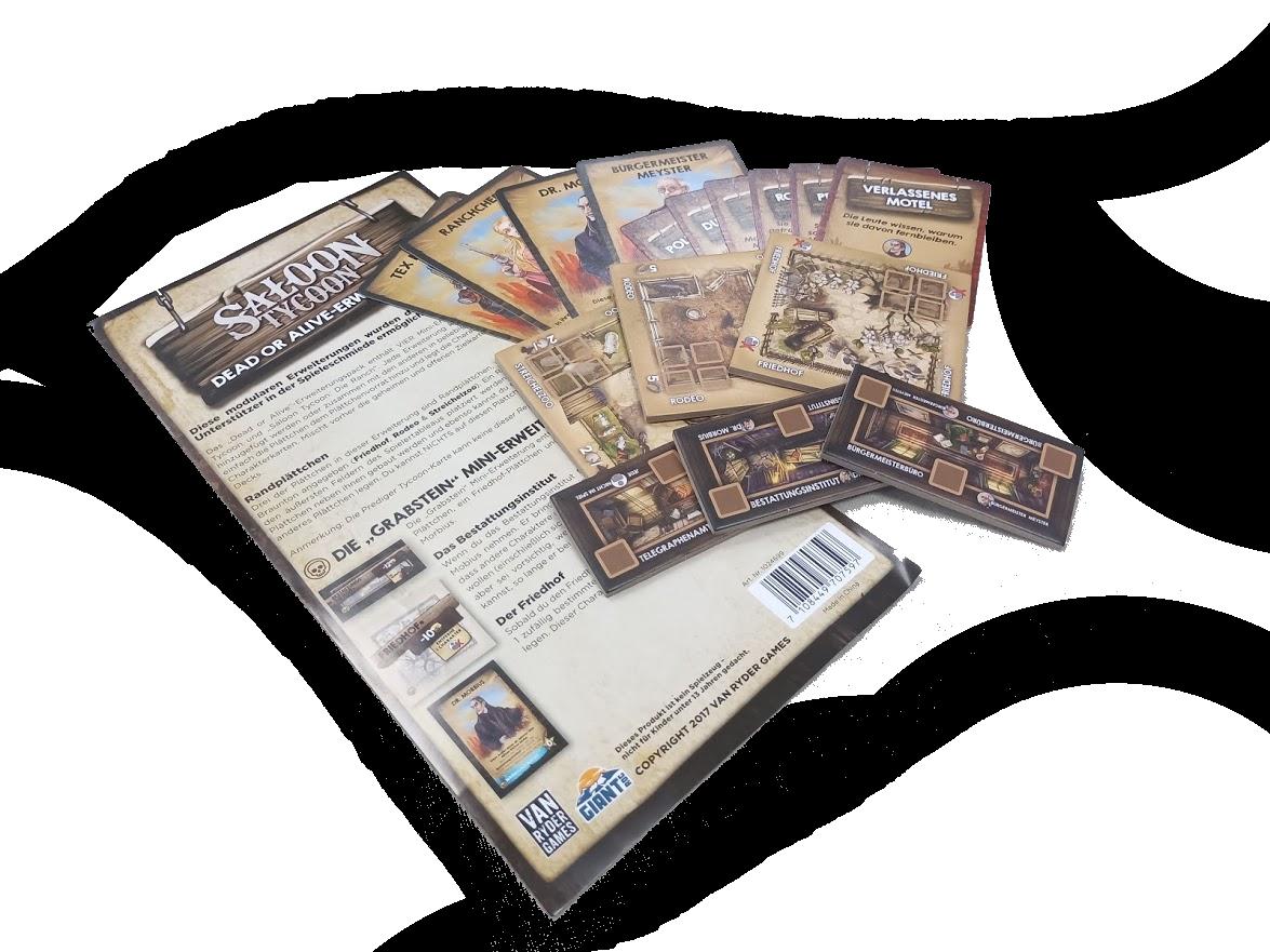Saloon Tycoon - Tot oder Lebendig Erweiterungspack