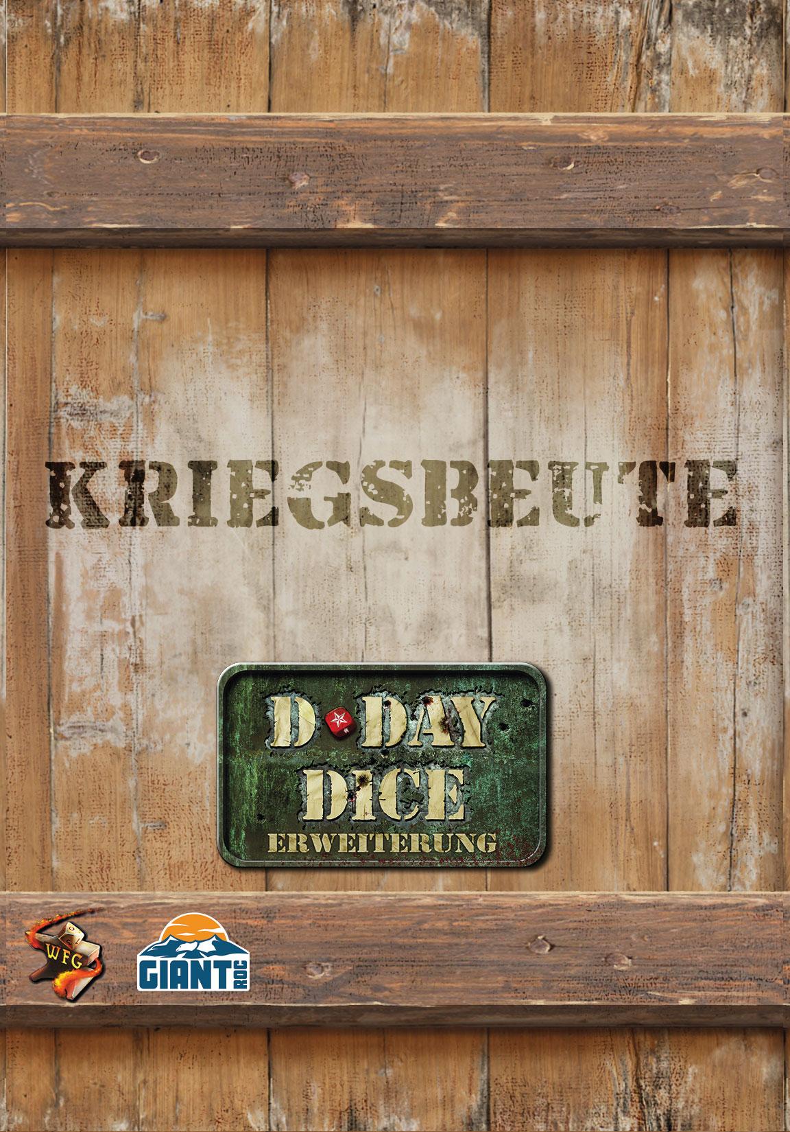 D-Day Dice 2nd Edition -  Kriegsbeute Erweiterung