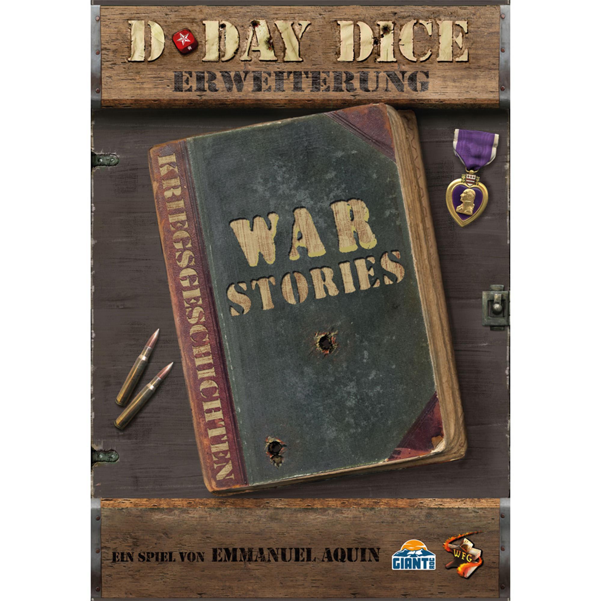 D-Day Dice 2nd Edition -  Kriegsgeschichten Erweiterung