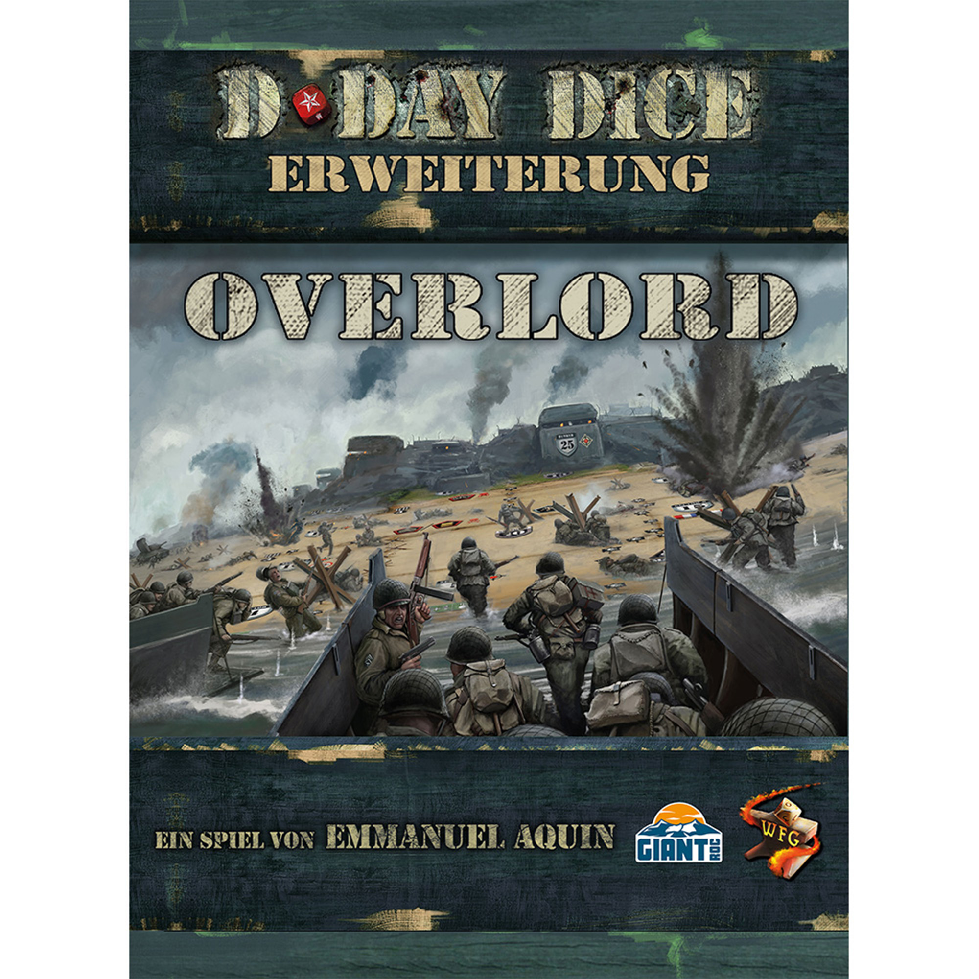 D-Day Dice 2nd Edition -  Overlord Erweiterung