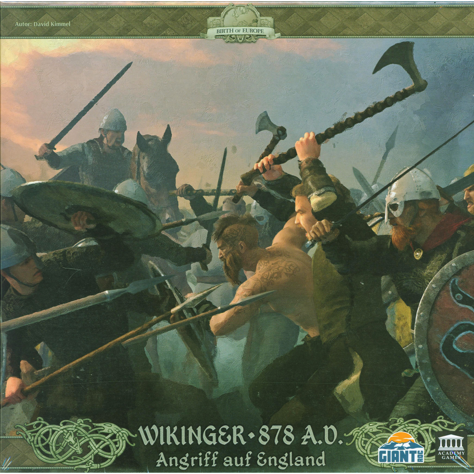 Wikinger 878 A.D. - Angriff auf England