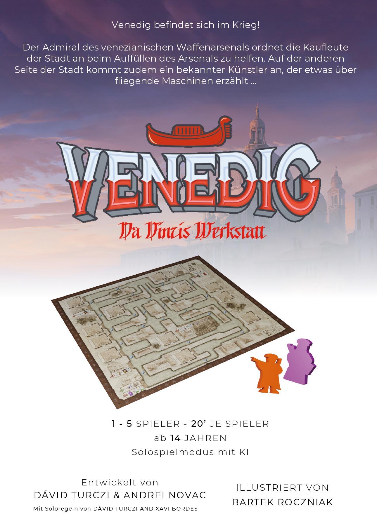 Venedig - Da Vincis Werkstatt (Erweiterung)