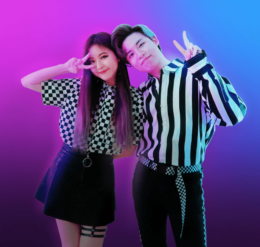 Influencer agency collaboration with Chinese influencers Ellen & Brian