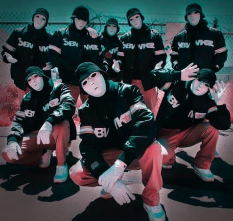 Influencer marketing platform collaboration with American dance crew Jabbawockeez