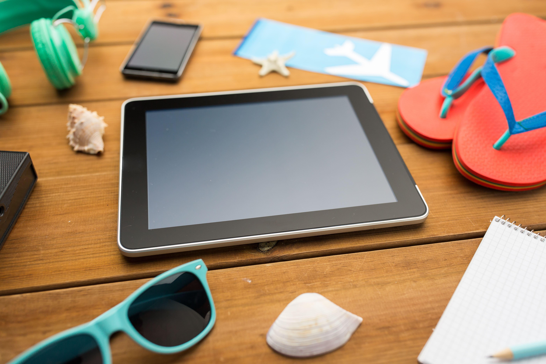 background tablet image