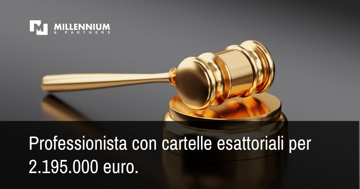 CTP Milano – Sentenza 2092 2019 - Ricorso accolto e debito interamente annullato per 2.195.000 euro