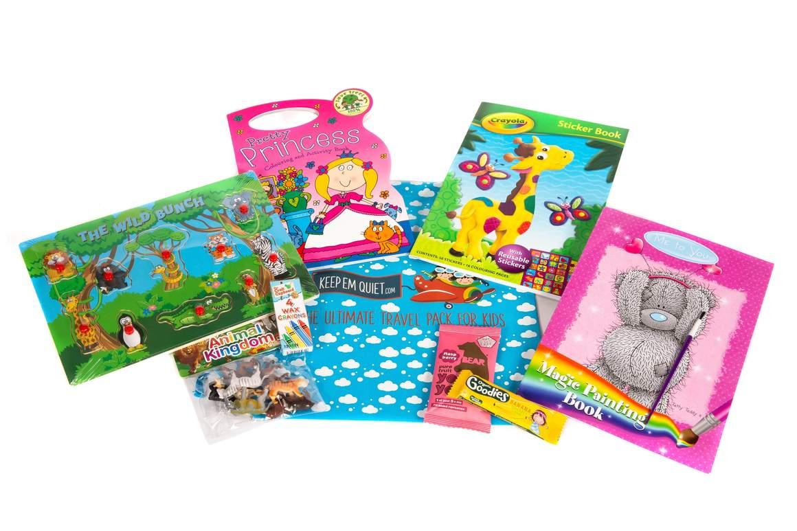 keep em quiet entertainment packs for children