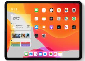 iPadOS WWDC 2019