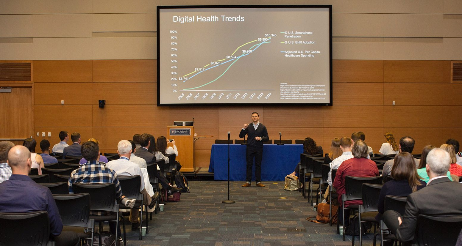 "Drew Schiller kicked off the 2017 mHealth@Duke conference with a zinger:""We don't need more innovation in healthcare."