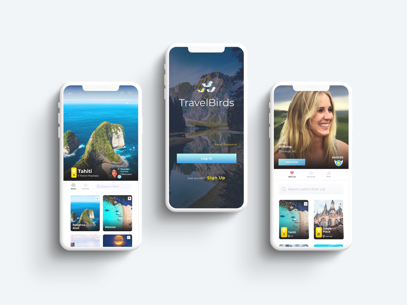 We conducted research, designed user flows, and built technical architecture to create the next iOS app that is ready to disrupt the travel industry.