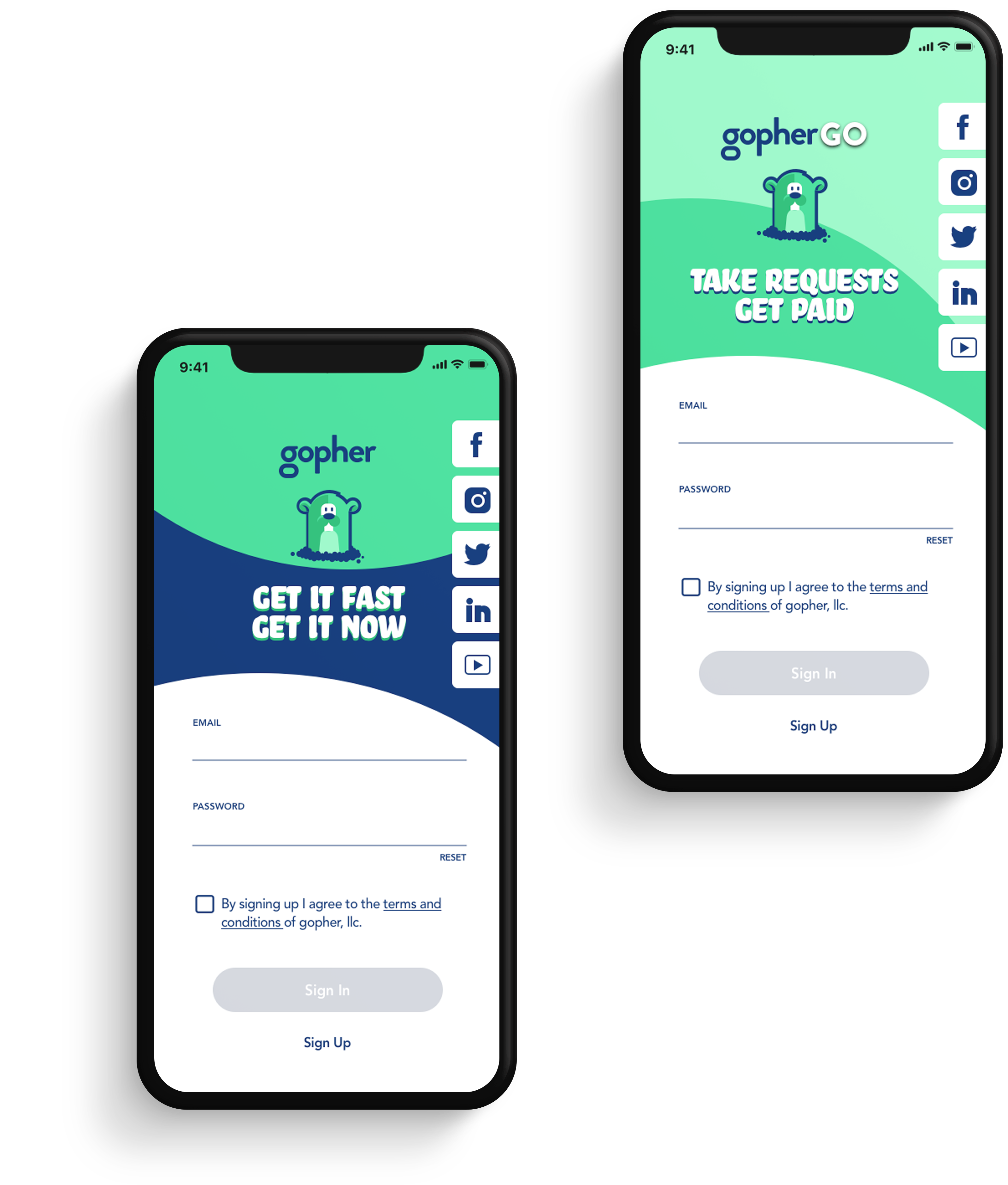 Need it Now? Gopher It! A mobile app that gives complete control to the user, whatever you need, whenever you need it, at the price you set.