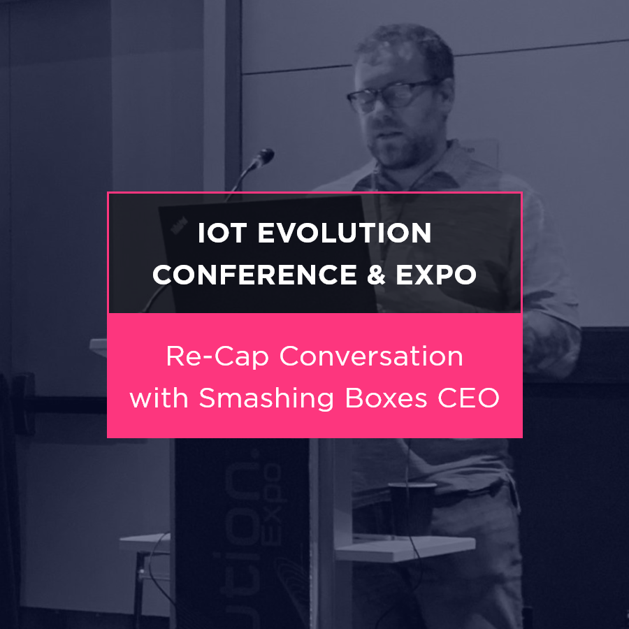 Nick Jordan recently spoke at the IoT Evolution Conference and Expo in Miami, covering the exciting future of infrastructure investment.