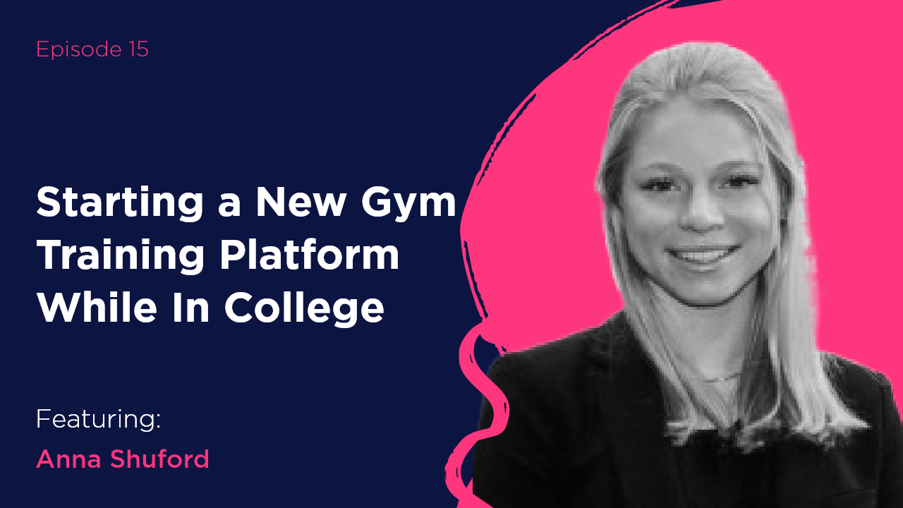 In episodes 15 and 16 of the Next Matters Most podcast series, Nick and Emily talk with Anna Shuford about starting a business while in school, how she manages her days, and what her next steps are after school. They also deep-dive into how Anna's BoomRoom platform works and why it's so important for fitness professionals and teachers.