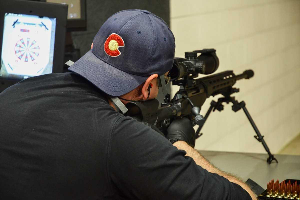 one-hundred-yard-indoor-rifle-range