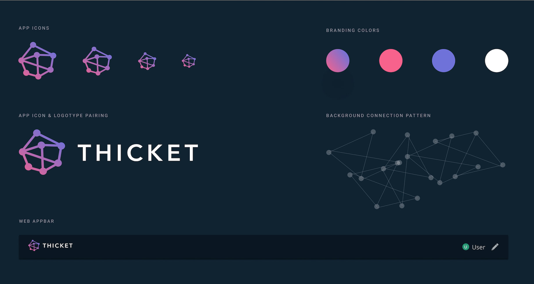 Final Identity System for Thicket