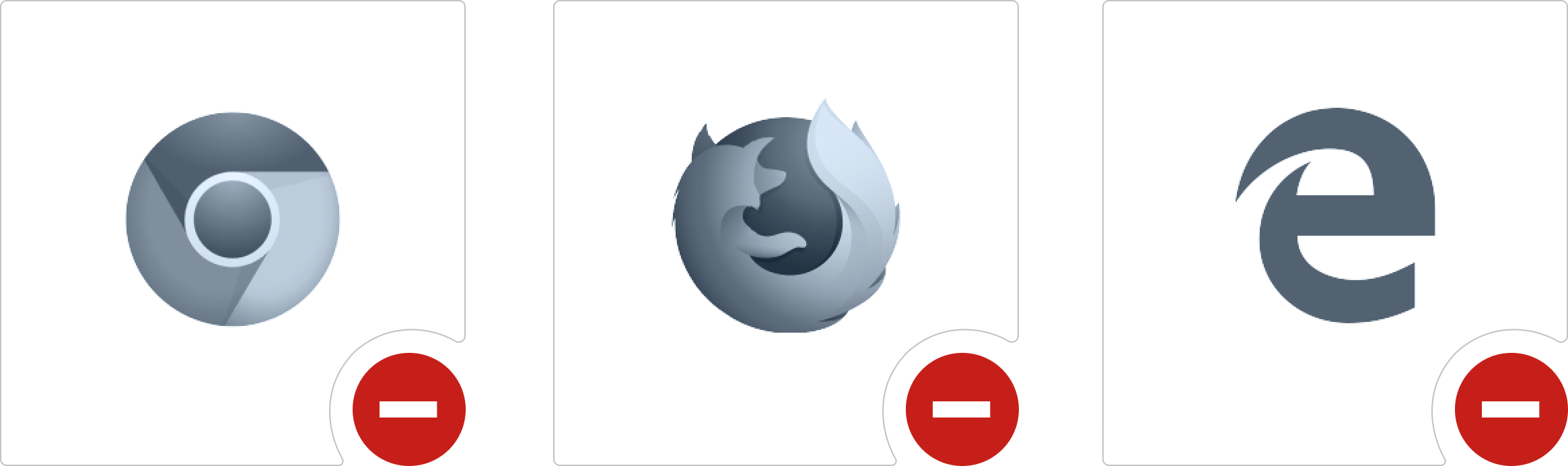Browsers that no longer support Silverlight