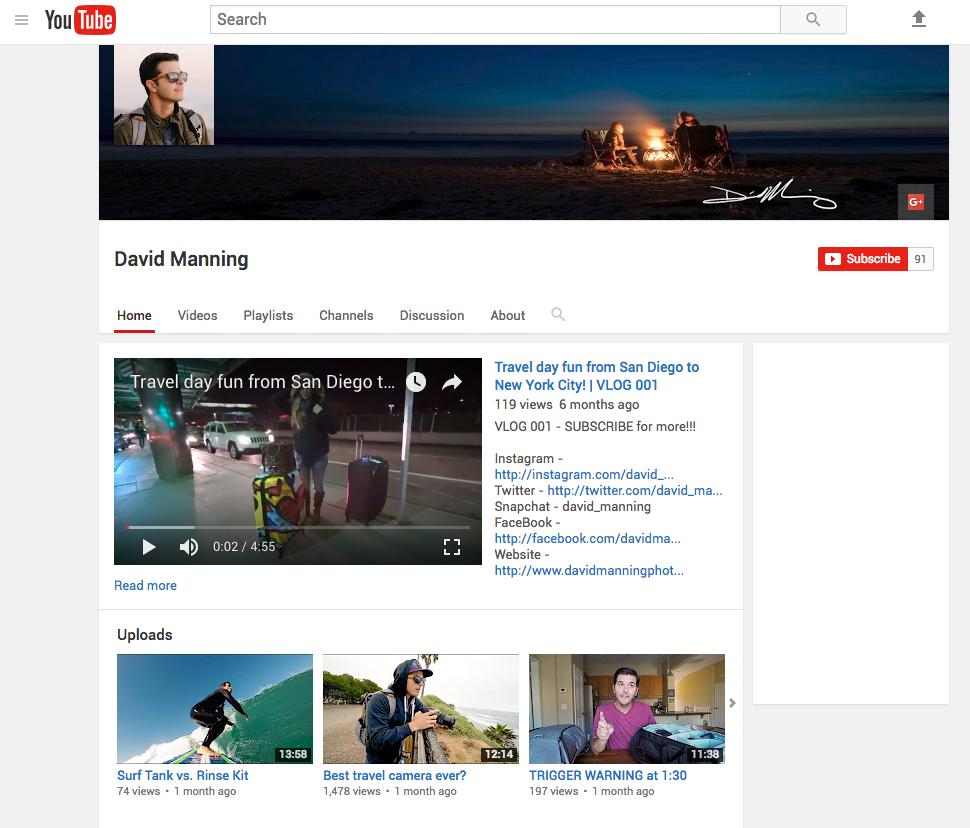 david manning vlog